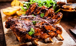 Catering  i Event Maciej Okwieciński: Smakowita taca mięs z grilla dla 2 osób za 69,99 zł i więcej opcji w restauracji Stara Piekarnia BBQ