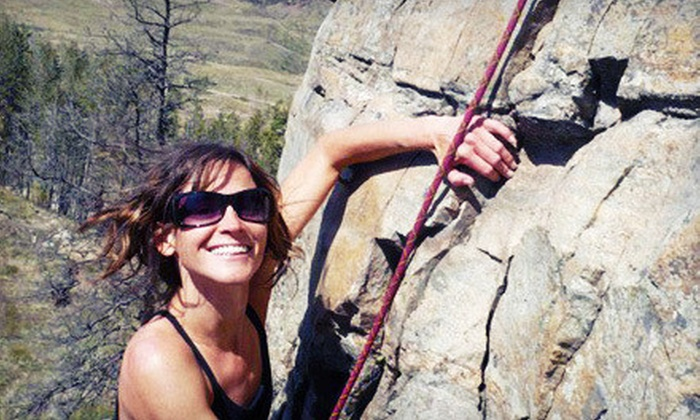 Adventure Forever - Kelowna: $65 for a Full-Day Introductory Rock-Climbing Course from Adventure Forever ($160 Value)