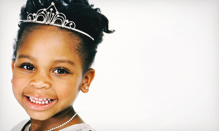 Up Do's and Eye Do's - North Jersey: On-Location Salon-Themed Kids' Birthday Party for Up to 10 or Up to 20 Kids from Up Do's and Eye Do's (Up to 64% Off)