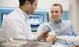 Fergus & Glover Glasgow: Tooth Implant with Bone Augmentation and Crown at Fergus & Glover Glasgow (53% Off)