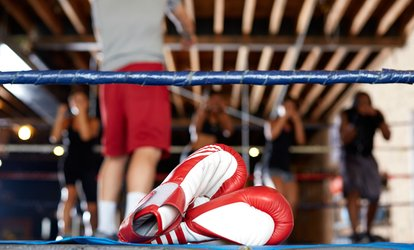image for $39 for One Month of Unlimited <strong>Boxing</strong> Classes at Breakthrufitness ($120 Value)