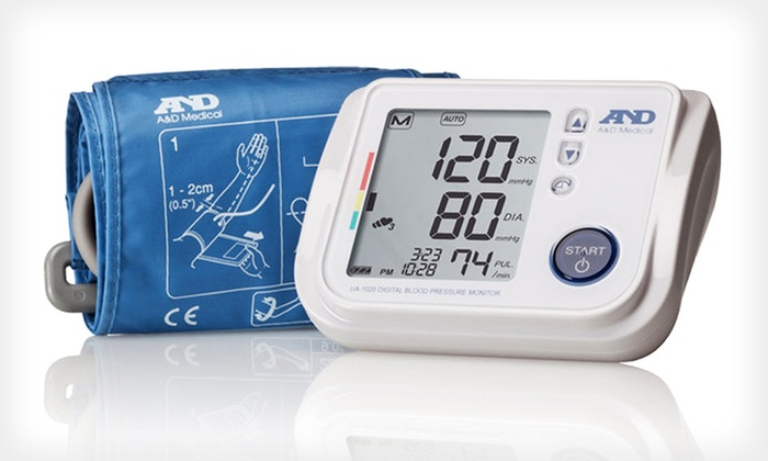 LifeSource Upper Arm Blood Pressure Monitor: Lifesource Premier Blood-Pressure Monitor with Tricheck  ($79.99 List Price). Free Shipping and Free Returns.
