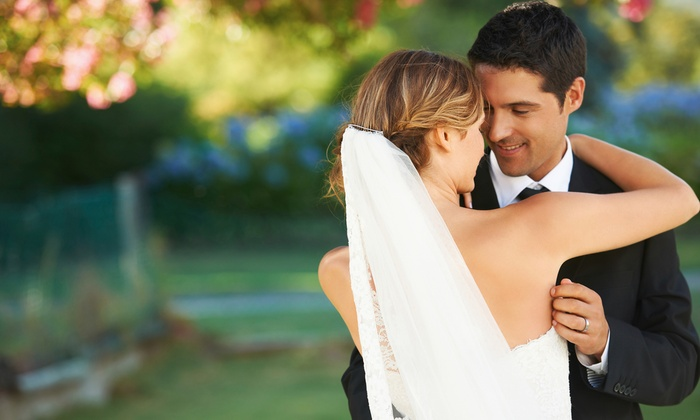Viva Las Vegas Wedding Chapel - John S. Park: Gazebo or Elvis Wedding or Vow-Renewal Package at Viva Las Vegas Wedding Chapel (Up to 47% Off)