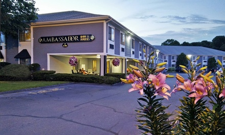 Stay at The Ambassador Inn & Suites in South Yarmouth, MA, with Dates into April 2018