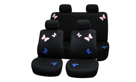 Flat Fabric Butterfly Seat Covers