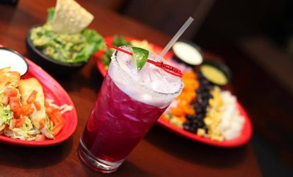 image for Appetizers and Drinks for Two or Four at Cantina Diablo's. Four Options Available.