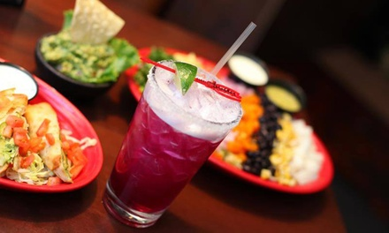 Appetizers and Drinks for Two or Four at Cantina Diablo's. Four Options Available.