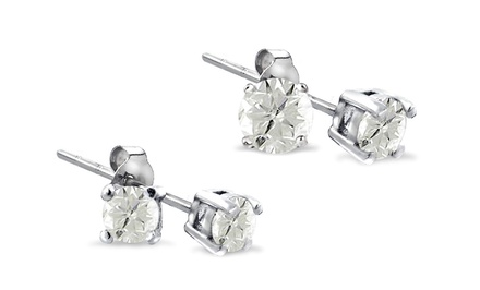 1/4 or 1/2 CTTW Diamond Stud Earrings from $29.99–$99.99