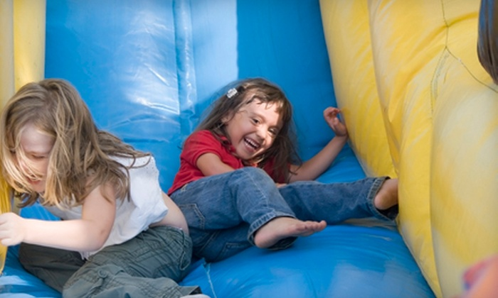 BounceU - Greensboro: One or Three Open-Bounce Visits or a Cosmic Bounce Party for Up to 25 Children from BounceU (Up to 56% Off)