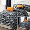 Reversible Camouflage Comforter Set