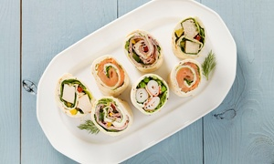 Healthy Wraps and Roll-Ups Class: Make Healthy Wraps and Roll-Ups at House of Ayurveda