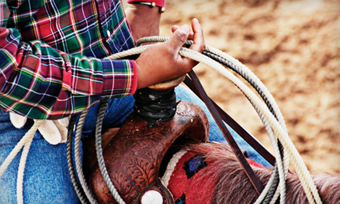 Beaumont Ranch - Grandview: Cattle-Herding Experience and Roping Lesson for One, Two, or Four at Beaumont Ranch (Up to 61% Off)