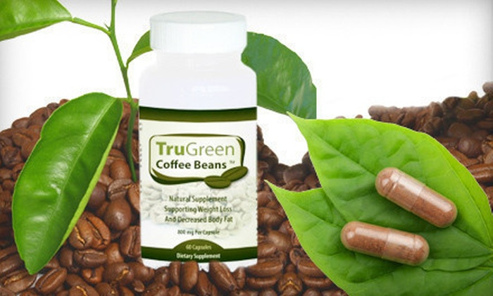 Tru Green Coffee-Bean Extract Supplements: $25 for 90-Day Supply of Tru Green Coffee-Bean Extract Weight-Management Supplement ($89.85 List Price). Free Shipping.