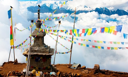 Nepal: 11-Day Trekking Tour with Hotel Stays, Meals and Transfers