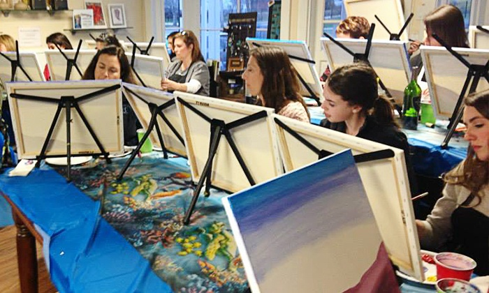 Art.Lab - Multiple Locations: Interactive Class Experience at Art.Lab (Up to 51% Off). Three Options Available.
