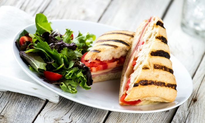 Delightful Tastes - Sheahan Estates - Trend Village - Arlington Woods: Cafe Meals for Two or Four, with Paninis, Soups or Salads, and Coffees at Delightful Tastes (Up to 50% Off)