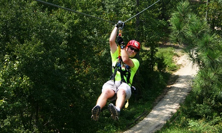 $49 for a Zipline Tour for One at Kersey Valley Zip Line ($89 Value)