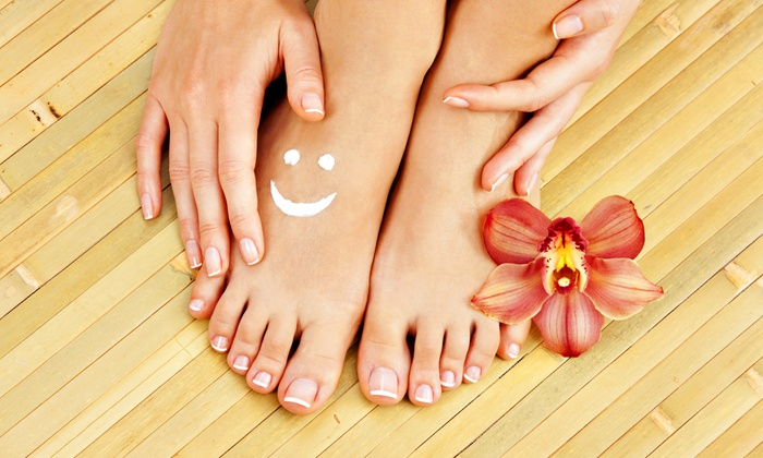 Nyle Nails & Spa - Great Uptown: A Manicure and Pedicure from Nyle Nails & Spa (20% Off)