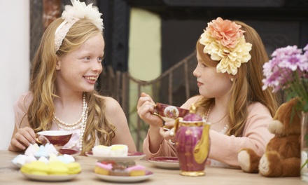 Kids Afternoon Tea with Play Session for Two or Four at Wigwam Coffee