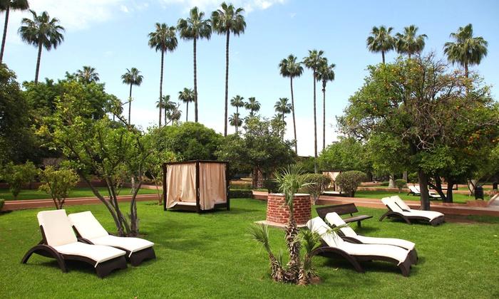 hotel medina gardens marrakech in marrakech groupon getaways With katzennetz balkon mit hotel sensimar medina gardens marrakech