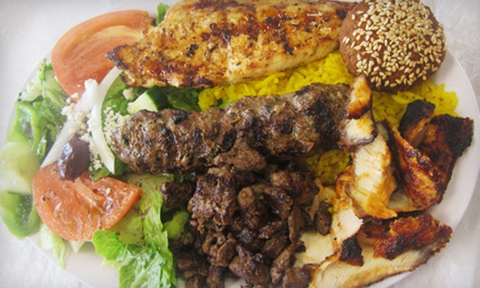 Babylon Gyros / Shako Mako Grill - Glendale: Mediterranean Food at Babylon Gyros / Shako Mako Grill (Half Off). Two Options Available.
