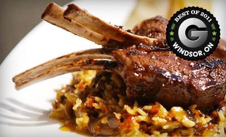 $50 Groupon to Mezzo Ristorante - Mezzo Ristorante in Windsor