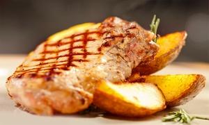 J.D. RESTAURANT: Zupa i danie główne (49,99 zł) z deserem (59,99 zł) dla 2 osób i więcej opcji w J.D. Restaurant w Baninie (do -44%)