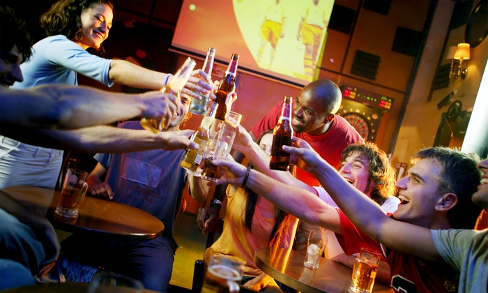 Grub & Pub Tour - South Miami: One, Two, or Four Tickets for the Grub & Pub Crawl South Miami on Saturday, January 24, 2015 (Up to 58% Off)