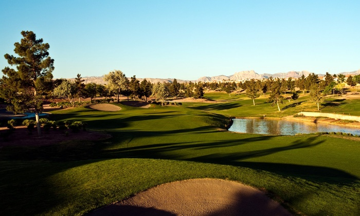 Eagle Crest Golf Club - Las Vegas: $26 for an 18-Hole Round of Golf, a Cart, and a Medium Bucket of Range Balls at Eagle Crest Golf Club (Up to $59 Value)