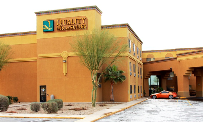 Quality Inn & Suites of the Sun Cities - Surprise, AZ: $99 for a 2-Night Stay for Two at Quality Inn & Suites of the Sun Cities (Up to $179.98 Value)