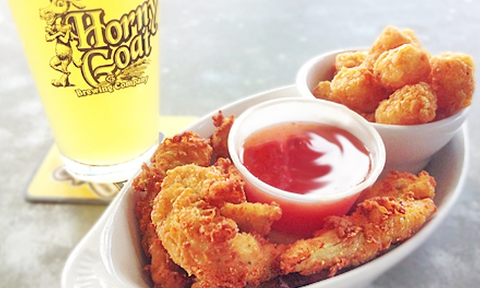 Horny Goat Brew Pub - Bay View: American Comfort Food with Merchandise Credit at Horny Goat Brew Pub (Up to 53% Off)