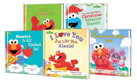Personalized Sesame Street Storybook by Put Me in the Story from $14.00–$59.00