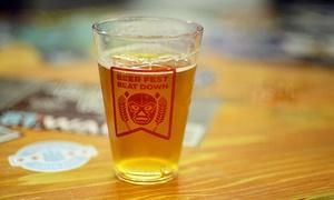 Beer Fest Beatdown: Beer Fest Beatdown on Saturday, December 12 at 2 p.m.