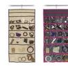 22-Pocket Hanging Jewelry Organizer