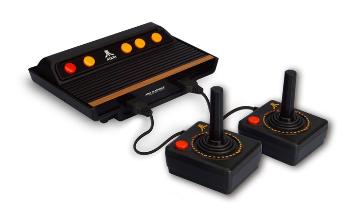 atari flashback 5 game console groupon goods. Black Bedroom Furniture Sets. Home Design Ideas