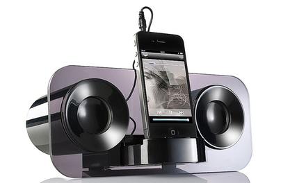 Auvisio MSS-222 Lautsprecher für Smartphones iPhone Mp3 Player Soundbox Soundbar