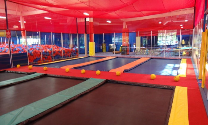JumpStreet - Multiple Locations: Two Hours of Trampoline Jumping, Games, and Activities for Two or Four at JumpStreet (Up to 52% Off)
