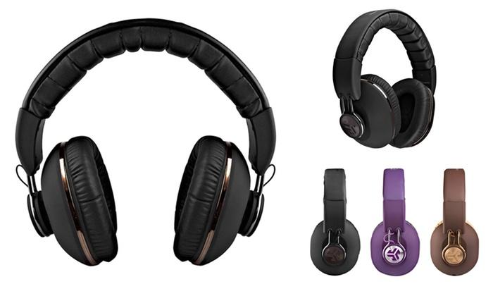 JLab Bombora Over-Ear Headphones with Universal Microphone (Refurbished)