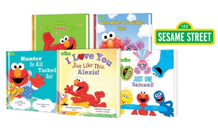 Personalized Sesame Street Books Groupon Goods