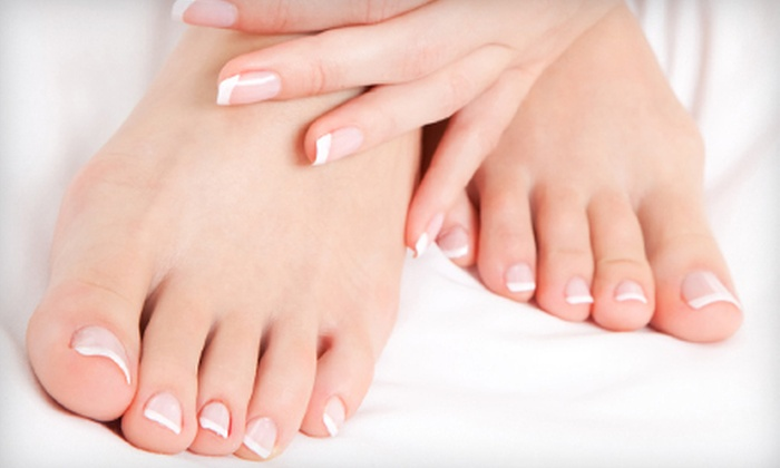 Fancy Fingers at Angie and Co - Nashville-Davidson metropolitan government (balance): One or Two Spa Mani-Pedis at Fancy Fingers at Angie and Co (Up to 62% Off)