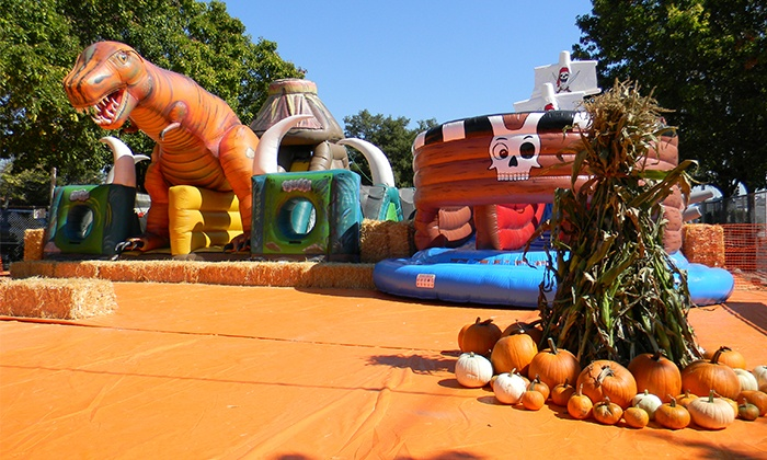 ABC Tree Farms - Multiple Locations: All-Day Inflatable Passes for One or Two at Pick of the Patch Pumpkins (Up to 44% Off)