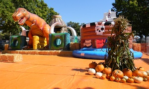 ABC Tree Farms: All-Day Inflatable Passes for One or Two at Pick of the Patch Pumpkins (Up to 44% Off)