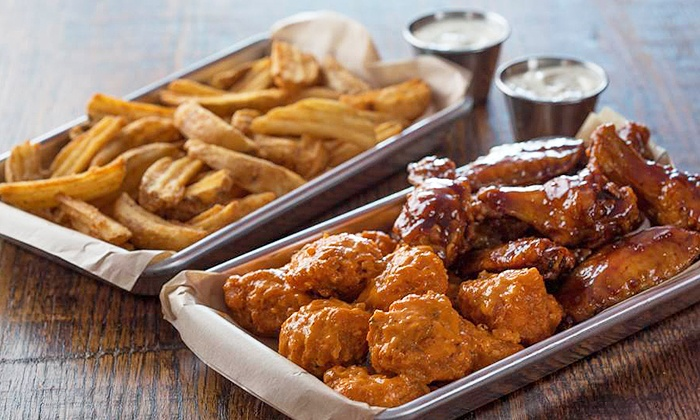 Wing Zone - Glendale Heights: $8 for $15 Worth of Wings and American Food at Wing Zone