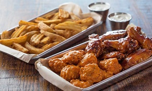 Wing Zone: $8 for $15 Worth of Wings and American Food at Wing Zone