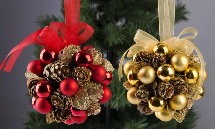 Addobbi Di Natale.Addobbi Di Natale Groupon Goods