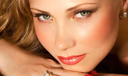 Permanent Liner on Upper or Lower Eyelids or Permanent Makeup on Eyebrows at Styles of Elegance (Up to 77% Off)