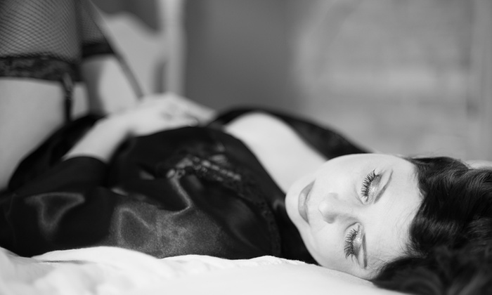 Embrace Me Photography - Logan Park: 30-Minute Boudoir Photo Shoot with Digital Images from Embrace Me Photography (62% Off)