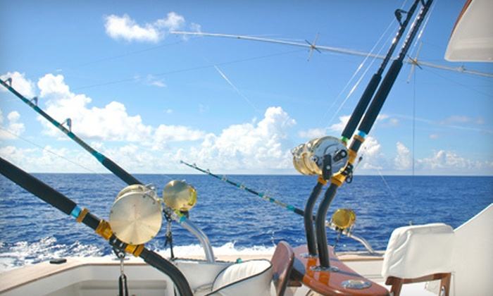 Extreme Island Adventures - Galveston Harbor: Bay or Tarpon-and-Shark Fishing Trip for up to Six from Extreme Island Adventures in Galveston (Up to 41% Off)