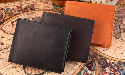 One or Two Genuine Leather Men's Wallets