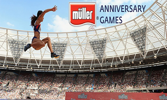 British Athletics - Queen Elizabeth Olympic Park: Müller Anniversary Games, 9 July at Queen Elizabeth Olympic Park (Up to 33% Off)